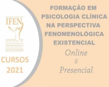 Curso de Formação em Psicologia Clínica na Perspectiva Fenomenológico-Existencial