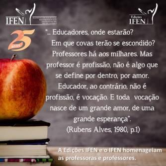 Homenagens aos Professores
